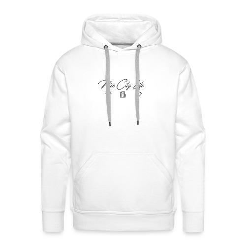 NICE CITY LIFE NOIR - Sweat-shirt à capuche Premium pour hommes