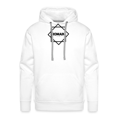 Romains Classic Black & White - Men's Premium Hoodie