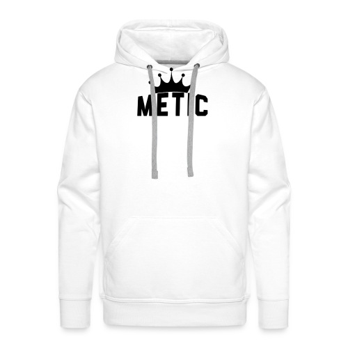 T Shirt design Black Bigger - Mannen Premium hoodie