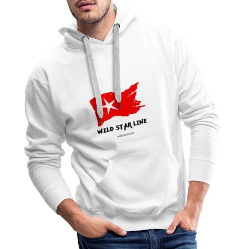 Wild Star Line - Männer Premium Hoodie