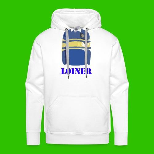 Leeds Loiner [Blue] - Men's Premium Hoodie