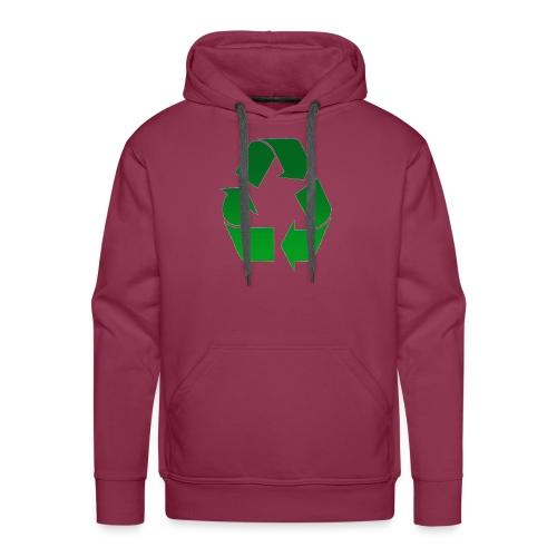 Recyclage - Sweat-shirt à capuche Premium pour hommes