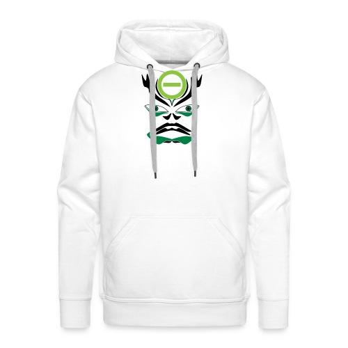 Negative Kabuki Mask - Männer Premium Hoodie