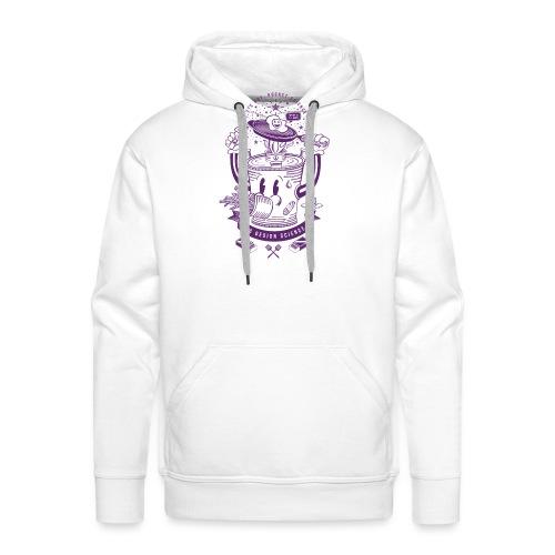 MR Rocket Stove (purple) - Men's Premium Hoodie