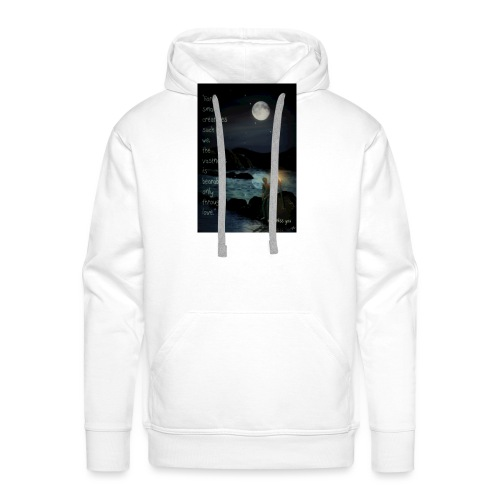 I miss you - Men's Premium Hoodie