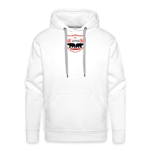 Crazy bastard - Herre Premium hættetrøje