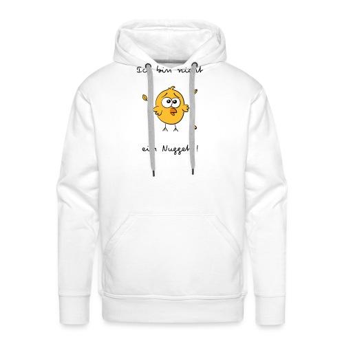 ich bin nicht ein nugget - Sweat-shirt à capuche Premium pour hommes