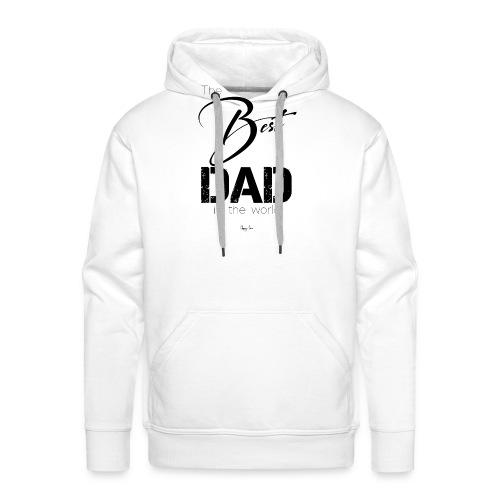Best Dad - Sudadera con capucha premium para hombre