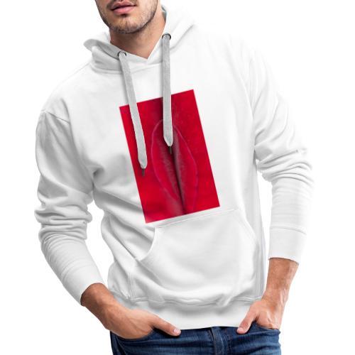 Sexe et poésie - Sweat-shirt à capuche Premium pour hommes