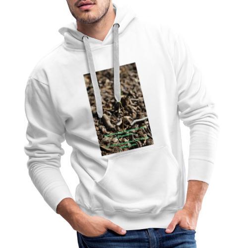 Hege die zarte Pflanze - Männer Premium Hoodie