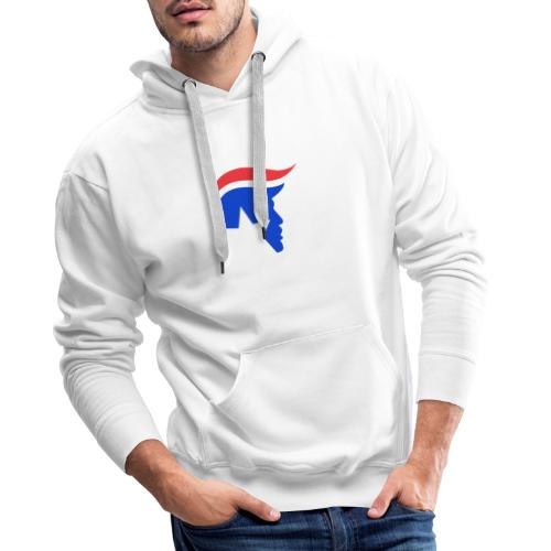 Trump Logo - Männer Premium Hoodie