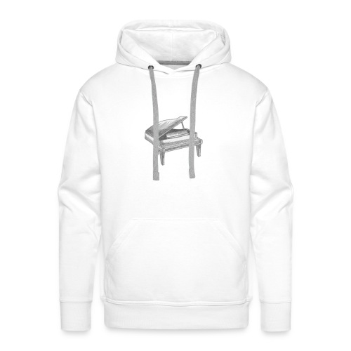 Piano Art - Sweat-shirt à capuche Premium pour hommes