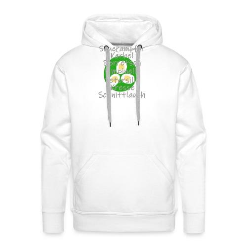 Grüne Soße Kräuterliste - Männer Premium Hoodie