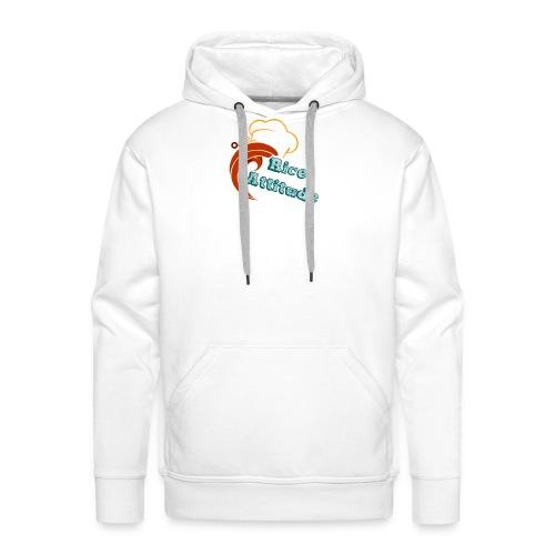 T Shirt Rice Attitude - Sweat-shirt à capuche Premium pour hommes