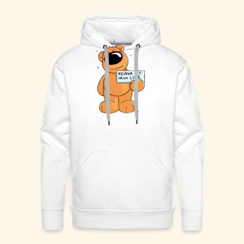 chris bears Keiner hat mich lieb - Männer Premium Hoodie