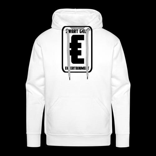 ZwartGeld Logo Sweater - Mannen Premium hoodie