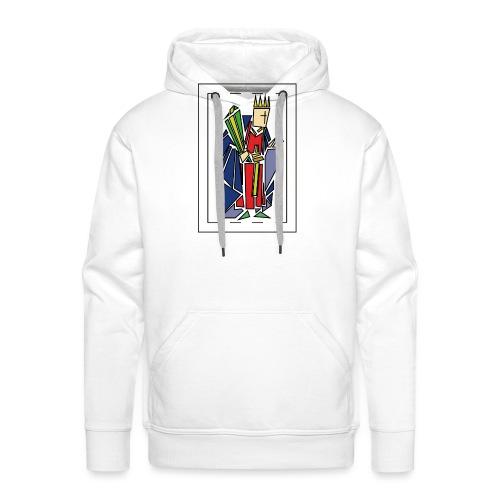 rey_de_bastos - Sudadera con capucha premium para hombre
