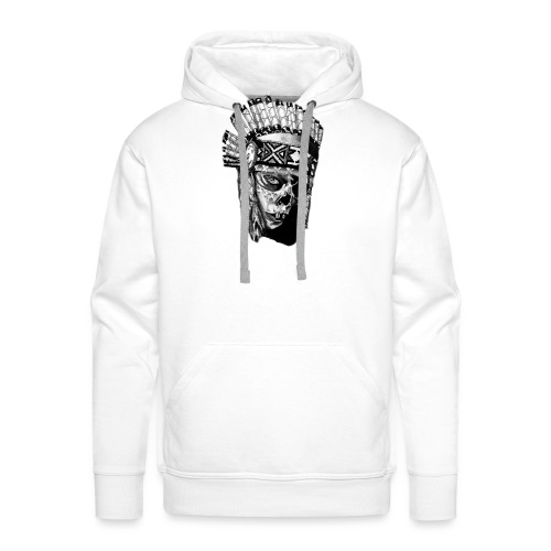 Indian Skull - Men's Premium Hoodie