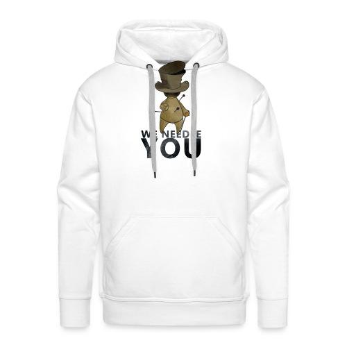 WE NEEDLE YOU - Sweat-shirt à capuche Premium pour hommes