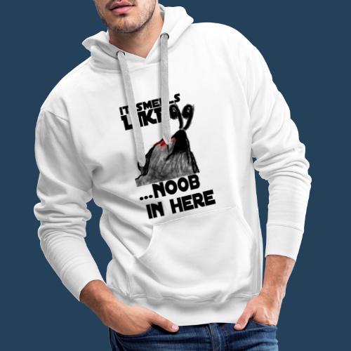 It smells like NOOB in here! - Männer Premium Hoodie