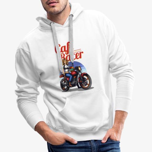 Cafe Racer - Männer Premium Hoodie