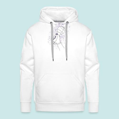 ARMY bomb - Sweat-shirt à capuche Premium pour hommes