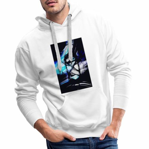 Reloj de los tiempos - Sudadera con capucha premium para hombre