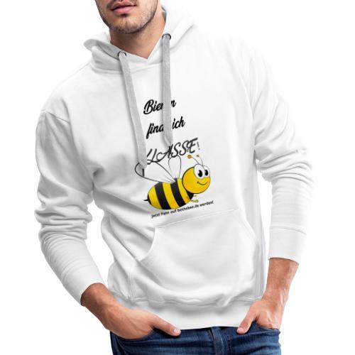 Tolle Biene Schwarz - Männer Premium Hoodie
