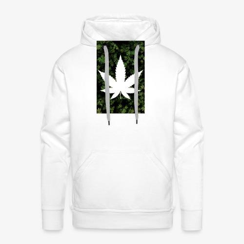 Weed_Design - Männer Premium Hoodie