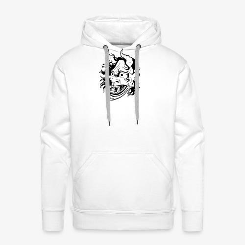 hannya - Sweat-shirt à capuche Premium pour hommes