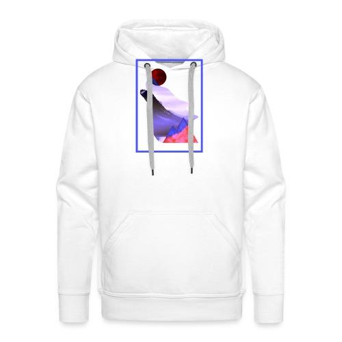 Måne Ulv - Laurids B Design - Herre Premium hættetrøje