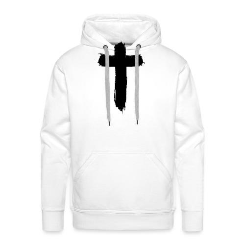 Brushed-Cross - Männer Premium Hoodie