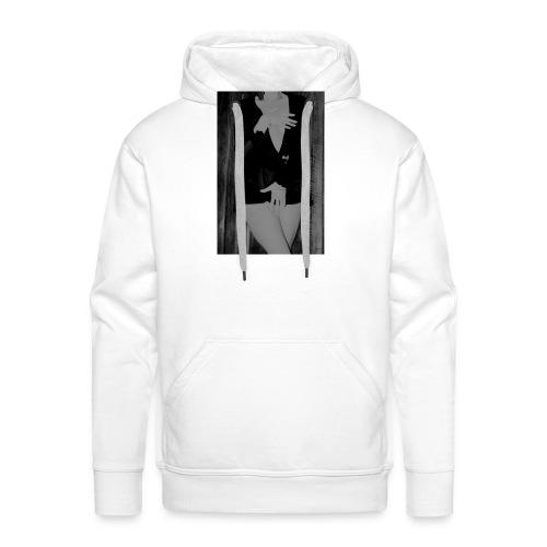 img 0603grise - Sweat-shirt à capuche Premium pour hommes