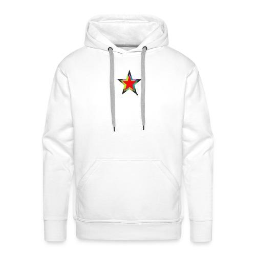 Colored star - Männer Premium Hoodie