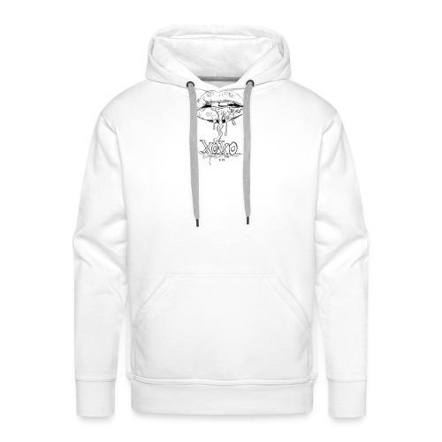 xoxo - Sweat-shirt à capuche Premium pour hommes