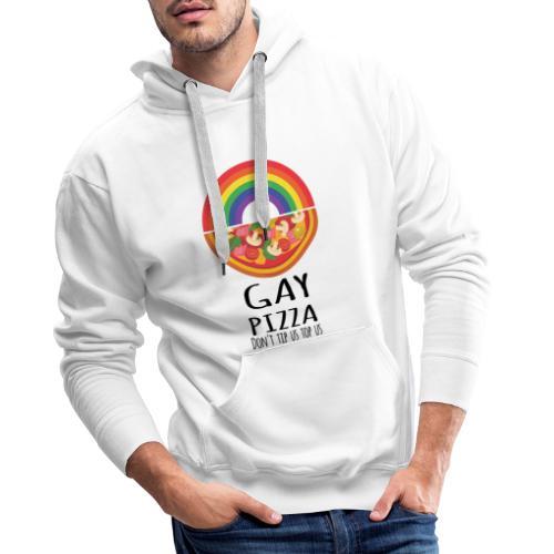 Gay Pizza   LGBT   Pride - Männer Premium Hoodie