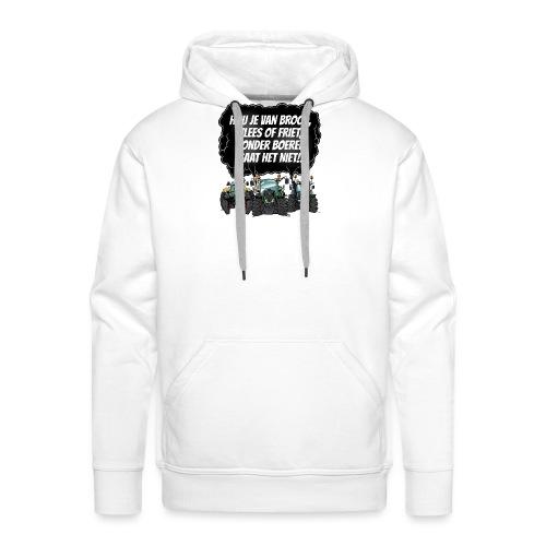 boeren tshirt F - Mannen Premium hoodie