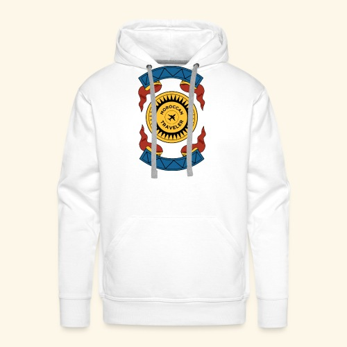 Moroccan Traveler - Sweat-shirt à capuche Premium pour hommes