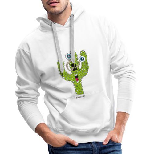 Mystified Cactus - Mannen Premium hoodie
