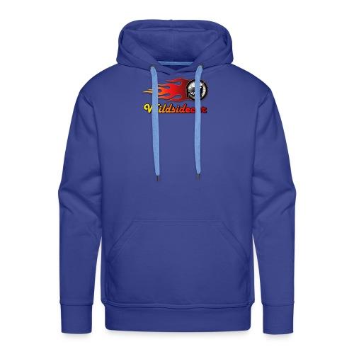 logo wildsidecar sans fond - Sweat-shirt à capuche Premium pour hommes