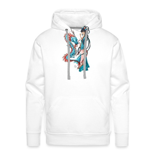 Blue Dragon - Sweat-shirt à capuche Premium pour hommes