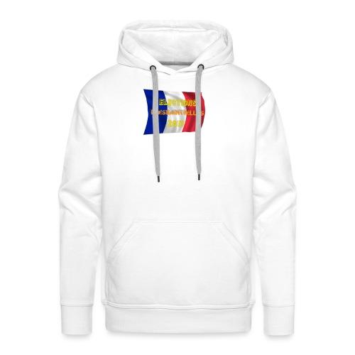 ELECTIONS 2017 - Sweat-shirt à capuche Premium pour hommes