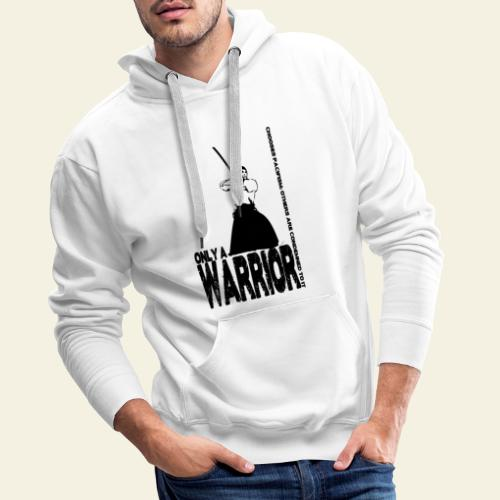 warrior - Herre Premium hættetrøje