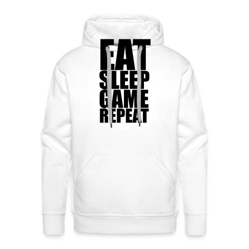 Eat Sleep Game Repeat - Men's Premium Hoodie