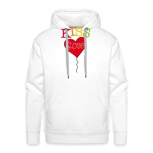 HEART LOVE - Mannen Premium hoodie