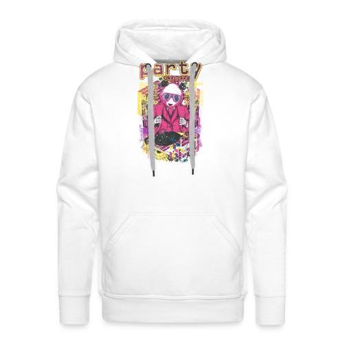 party - Sweat-shirt à capuche Premium pour hommes