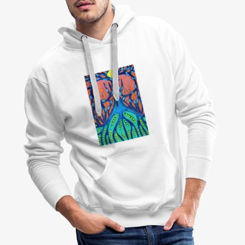 Drapieżne Drzewo - Bluza męska Premium z kapturem
