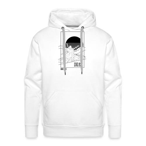 Ninja 2050 - Sweat-shirt à capuche Premium pour hommes