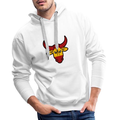 Toro Face - Sudadera con capucha premium para hombre