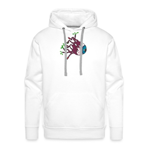 Oeil - Design by Noah M - Sweat-shirt à capuche Premium pour hommes